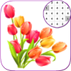 Tulip Flowers Coloring  Color By Number_PixelArt icon