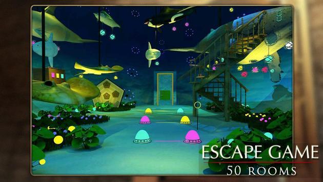Escapar juego: 50 habitación 1 captura de pantalla 1