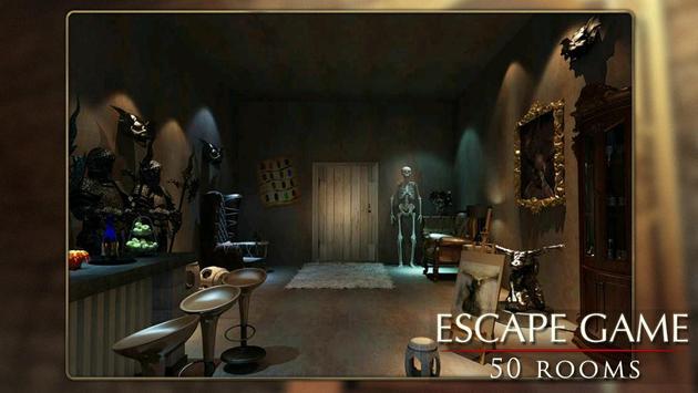 Escapar juego: 50 habitación 1 captura de pantalla 2