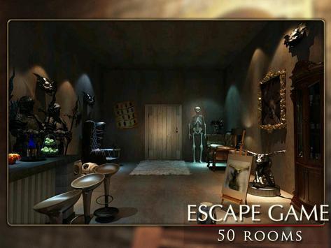 Escapar juego: 50 habitación 1 captura de pantalla 7