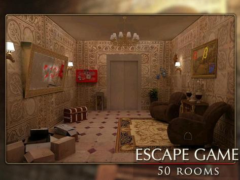 Escapar juego: 50 habitación 1 captura de pantalla 9
