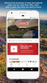 Coleman - Get Outdoors poster