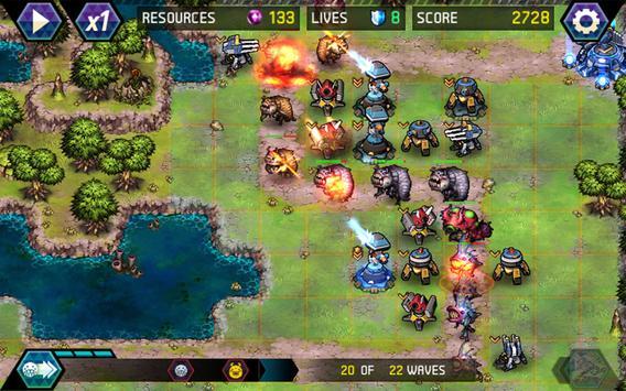 タワーディフェンス: Infinite War スクリーンショット 3