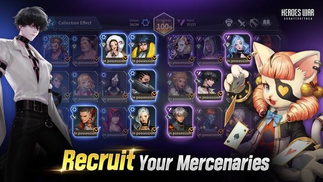Heroes War screenshot 1