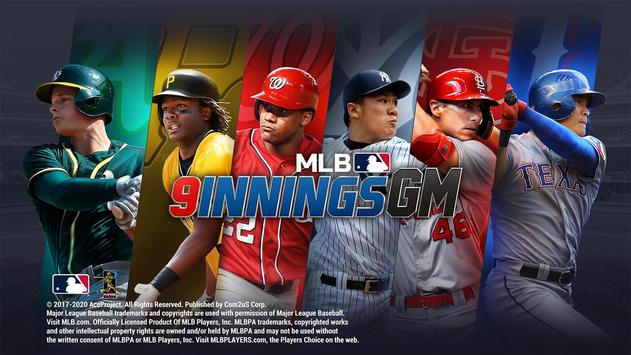 MLB 9 Innings GM Affiche