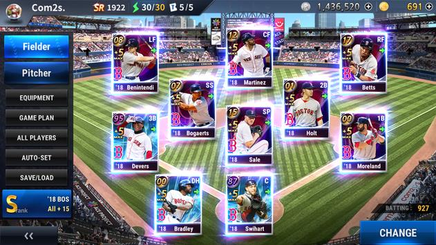 MLB 9 Innings GM capture d'écran 7