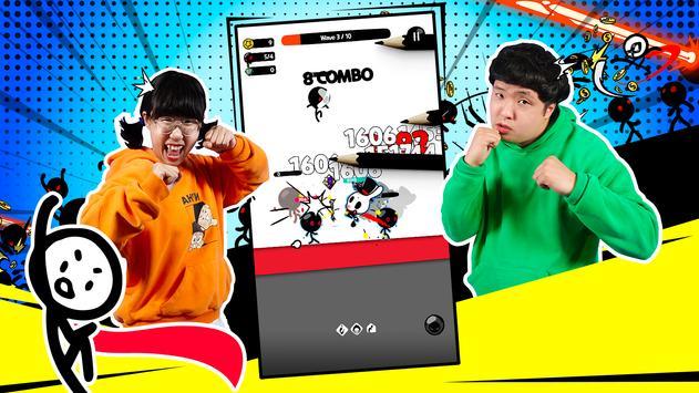 Super Action Hero: Stick Fight capture d'écran 8