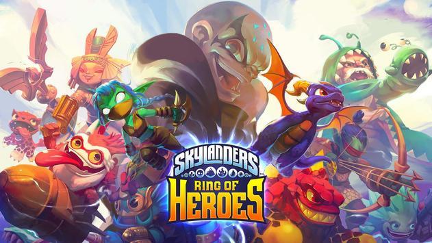 Skylanders™ Ring of Heroes Affiche