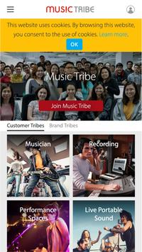 Music Tribe Community poster