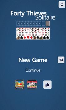 Forty Thieves Solitaire screenshot 2