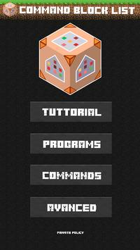 Command Block Guide poster