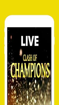 Watch Clash Of Champions WWE poster