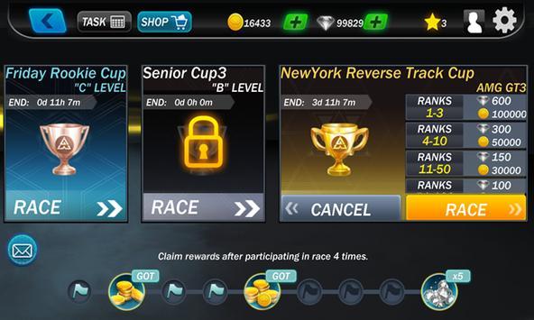 Street Racing 3D captura de pantalla 9