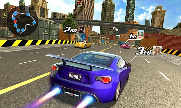 Street Racing 3D captura de pantalla 1