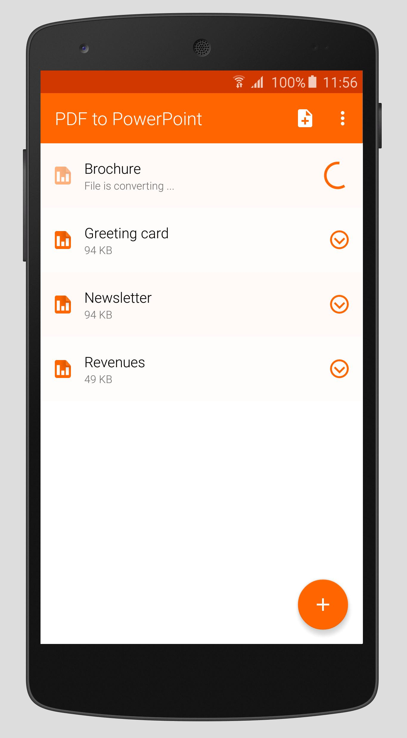 PDF to PowerPoint for Android - APK Download