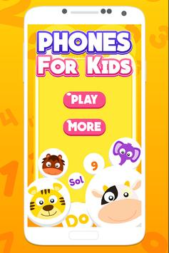 Phones for kids poster