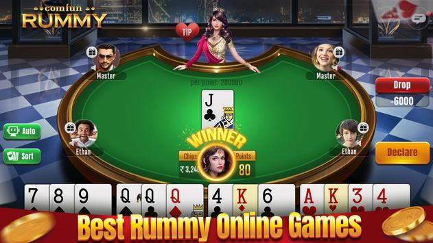 Indian Rummy Comfun-13 Card Rummy Game Online poster