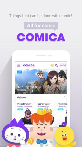 Download COMICA – Free Webtoon Comic 1 8 10 Android APK