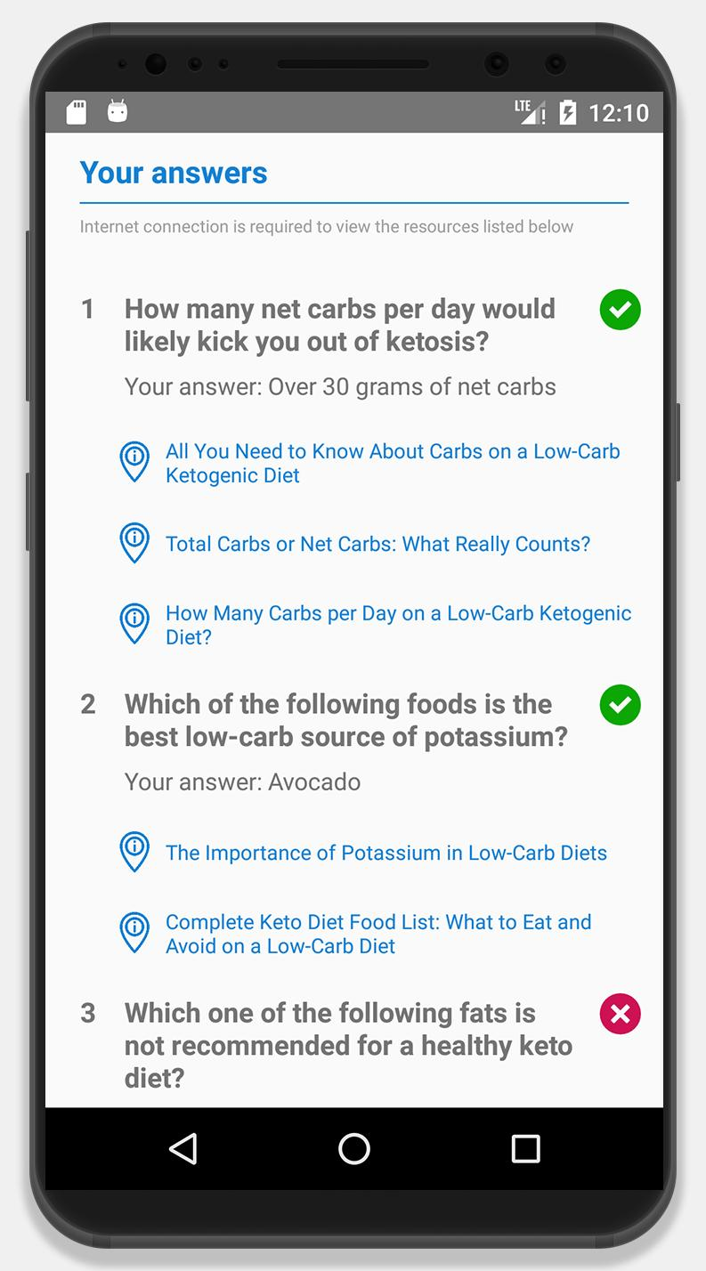 Keto Diet App Free Quiz For Android Apk Download
