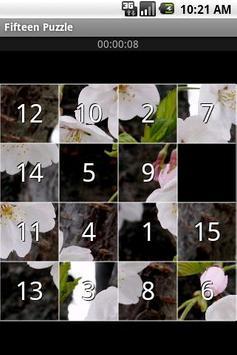 Fifteen Puzzle screenshot 1