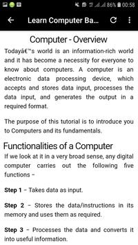 Basics of Computer in English screenshot 11