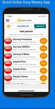 Quick Dollar : Surveys that Pays screenshot 2