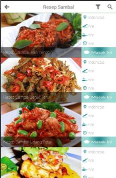 Aneka Resep Masakan Khas Indonesia screenshot 3