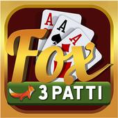 FTP – FOX TEEN PATTI (3 PATTI) icon