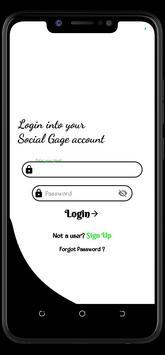 SocialGage screenshot 1