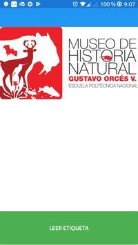 Museo de Historia Natural Gustavo Orcés V poster