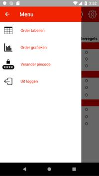 Order Verzamel Dashboard poster