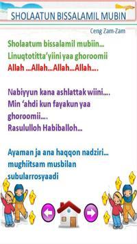 lagu sholawat anak muslim terpopuler screenshot 1