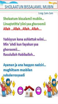 lagu sholawat anak muslim terpopuler screenshot 7