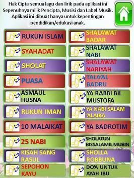 lagu sholawat anak muslim terpopuler screenshot 5