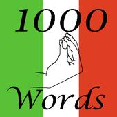 Top 1000 Italian words icon
