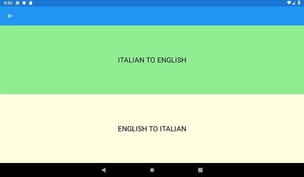 Top 1000 Italian words screenshot 9
