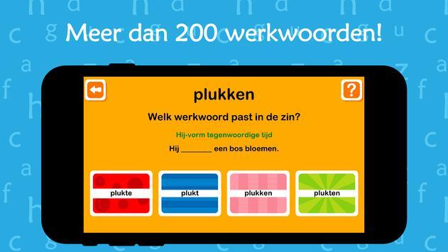 Oefenen met werkwoorden screenshot 2