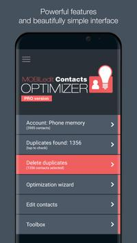 Contacts Optimizer Cartaz