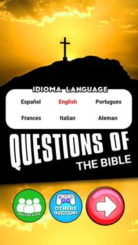 Bible Questions Learning poster