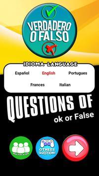 True or False Questions poster