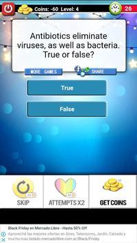 True or False Questions screenshot 1