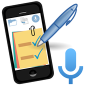 TASK NOTES - Notepad, List, Reminder, Voice Typing icon