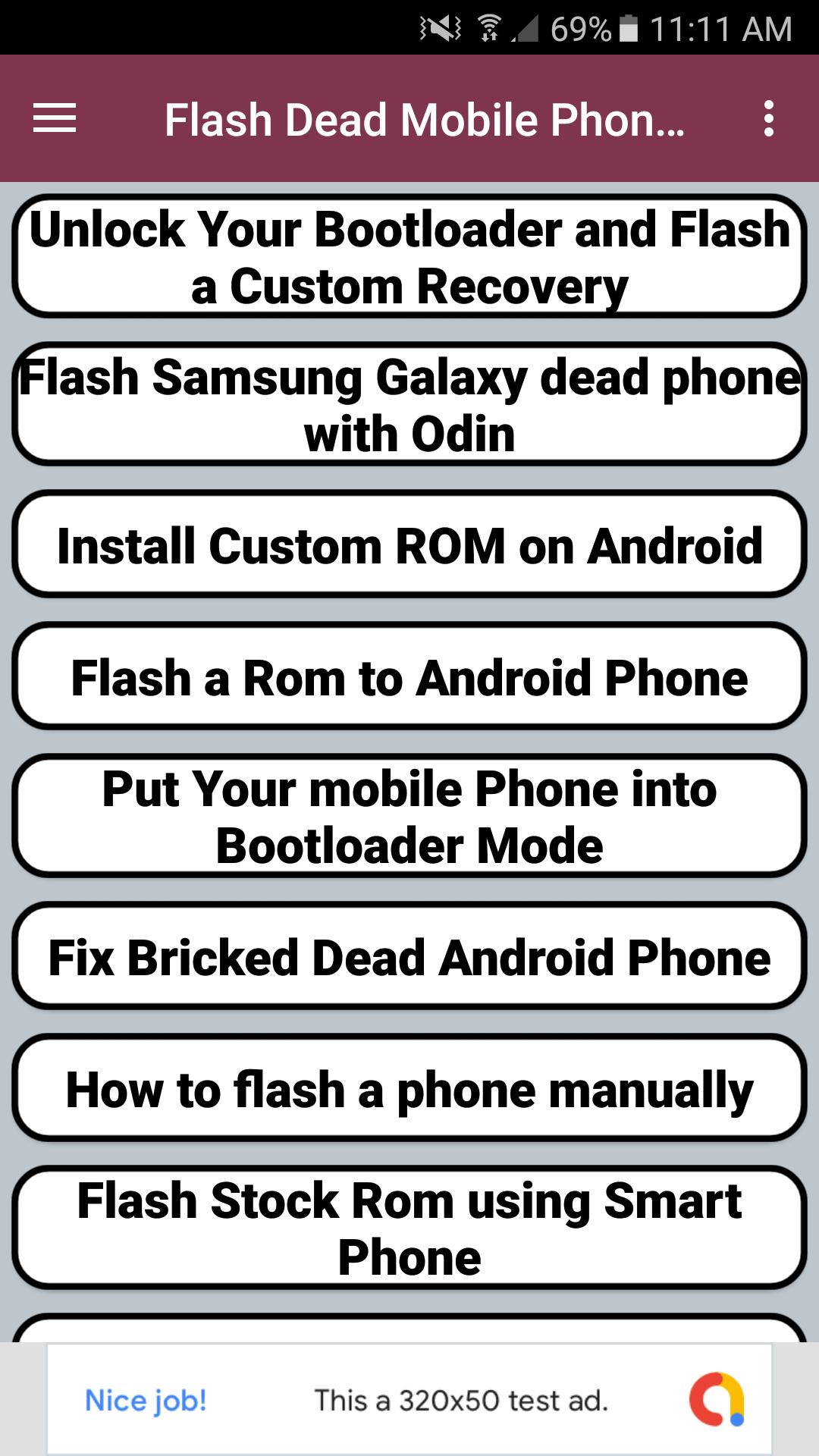 Flash Dead Mobile Phone Guide for Android - APK Download