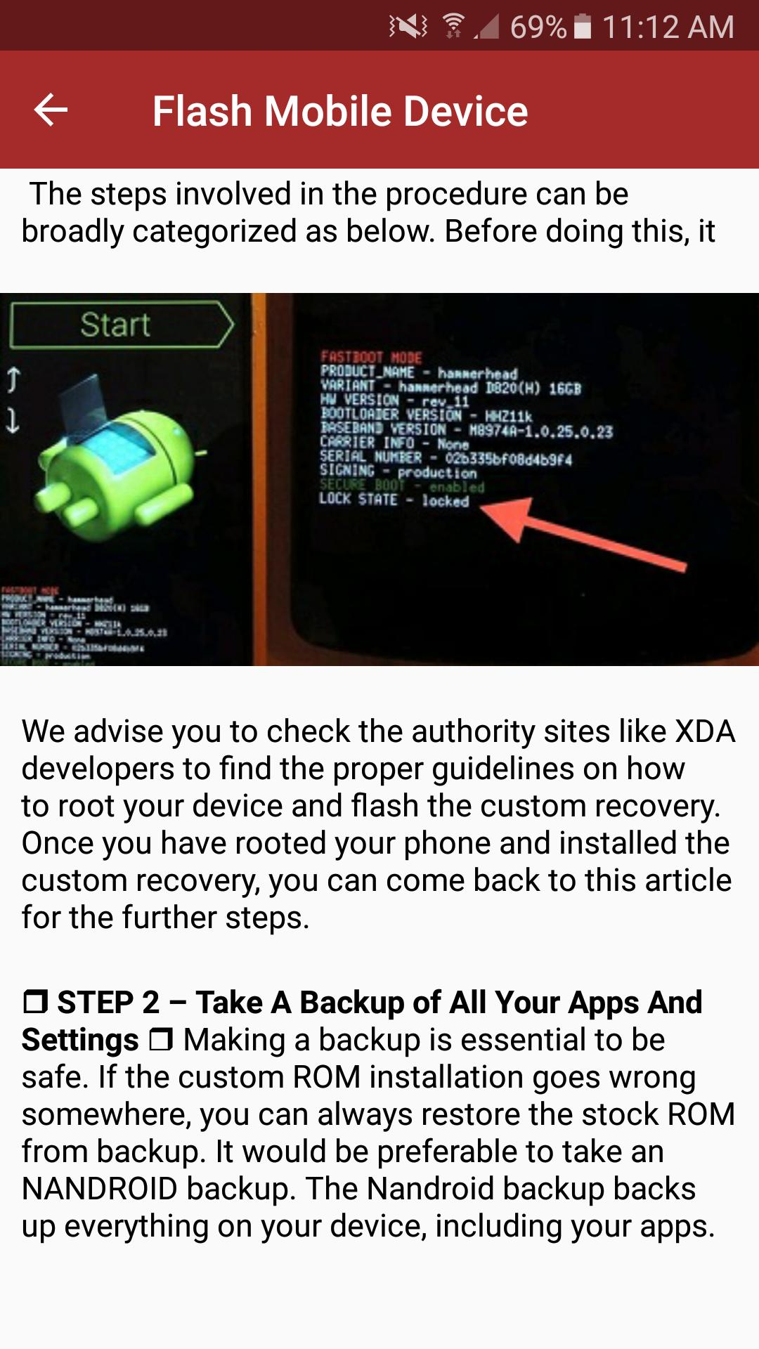 Fastboot Device State Locked
