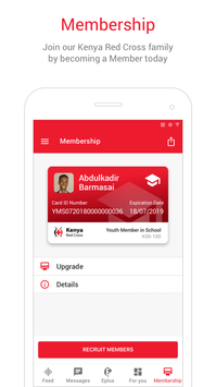 Kenya Red Cross (KRCS) App poster