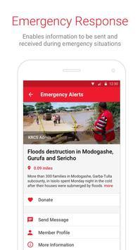 Kenya Red Cross (KRCS) App screenshot 1