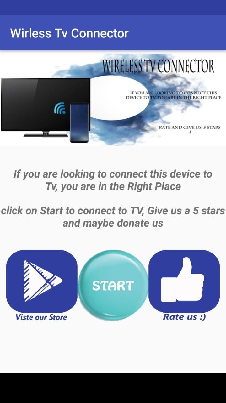 Wireless TV Connector for Android - APK Download