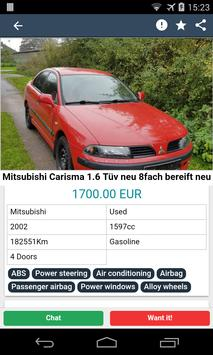 Second Hand Cars - Free ads screenshot 1