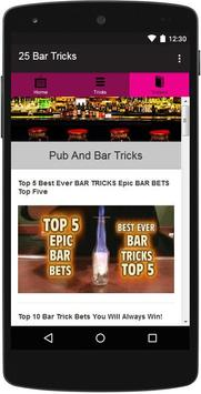 25 Bar Tricks screenshot 2