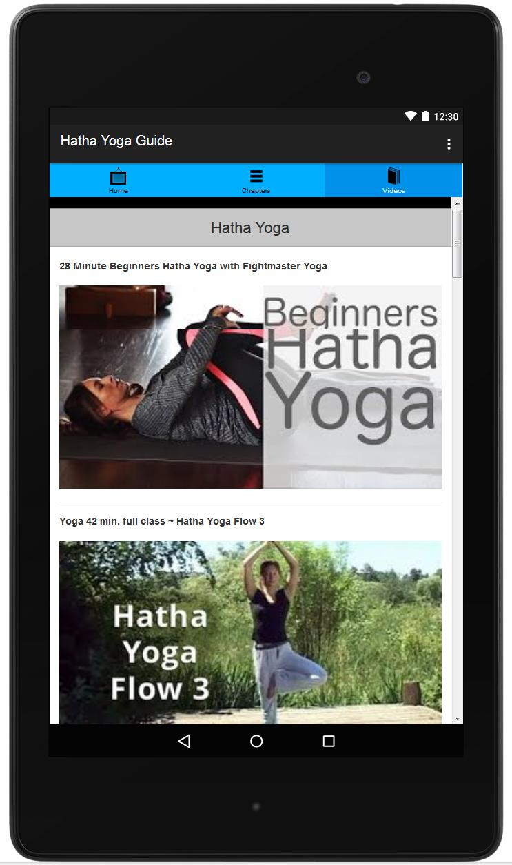 Hatha Yoga Guide for Android - APK Download